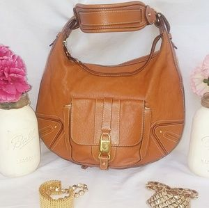 Marc Jacobs 👍Make Offer👍Dark Tan Leather Handbag